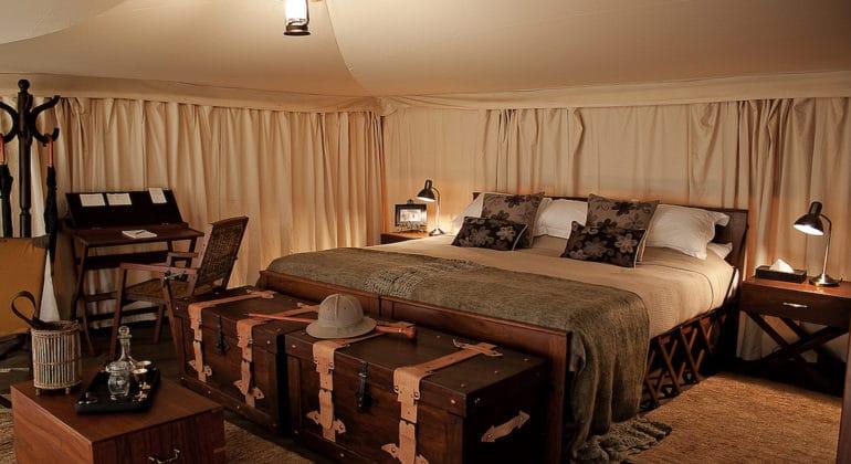 Serengeti Pioneer Camp Bedroom