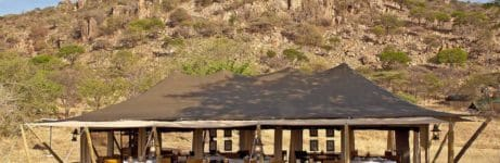 Serengeti Pioneer Camp Dining