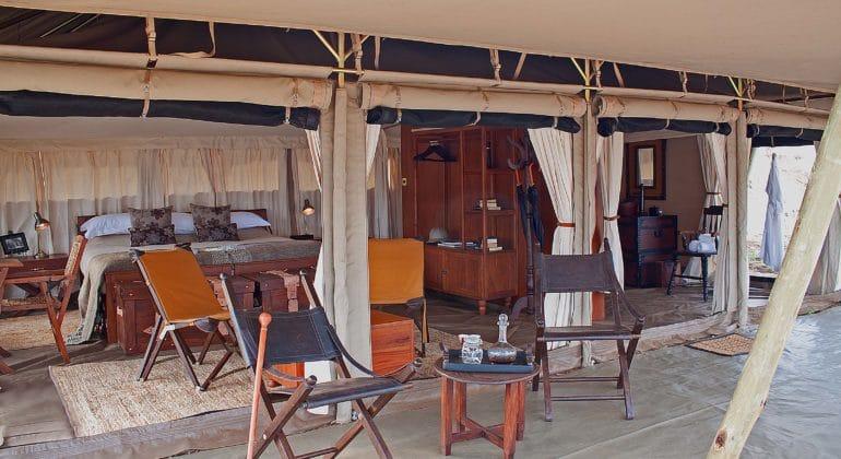 Serengeti Pioneer Camp Interior Tent