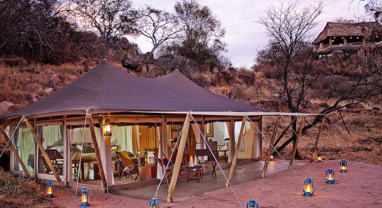 Serengeti Pioneer Camp Outside Room