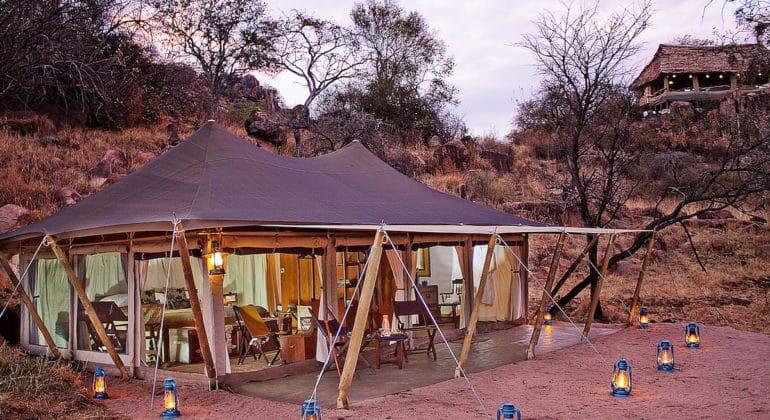 Serengeti Pioneer Camp Tent