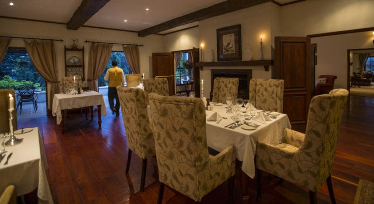 The Manor At Ngorongoro Dining