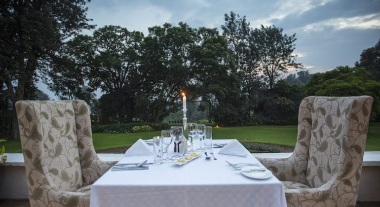 The Manor At Ngorongoro Dinner
