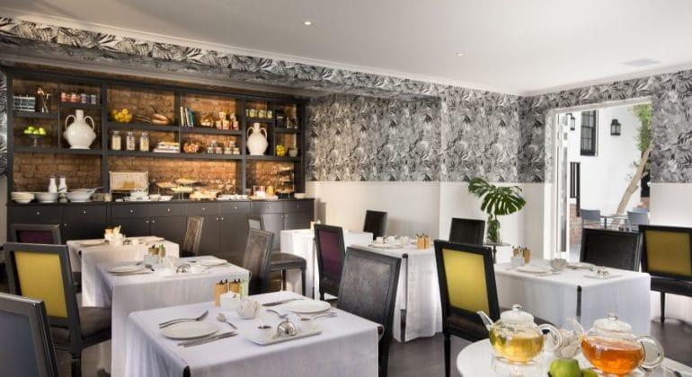 Cape Cadogan Boutique Hotel Breakfast Room