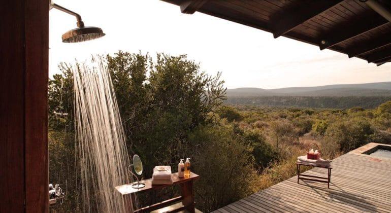 Ecca Lodge Outdoor Shower