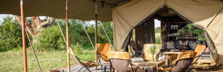 Explore Mobile Tented Camp Tent View