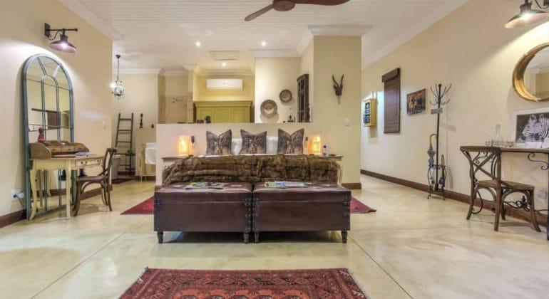 Kambaku River Lodge Bedroom