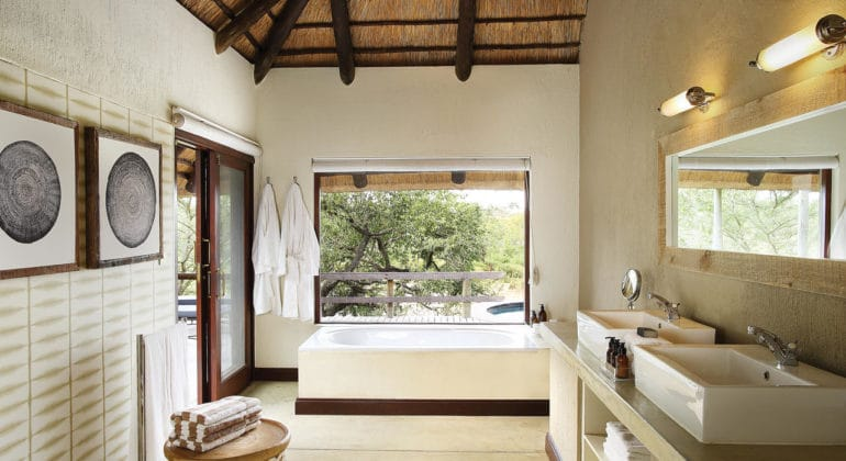 Londolozi Founders Camp Bathroom
