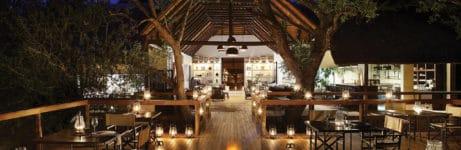 Londolozi Tree Camp Dining