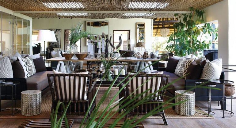 Londolozi Tree Camp Lounge