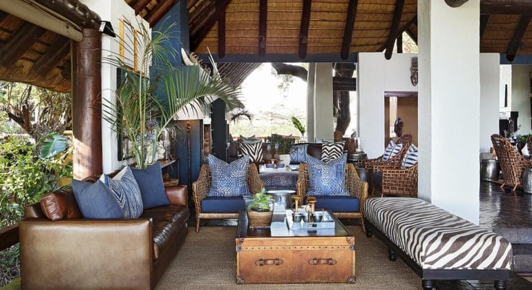 Londolozi Varty Camp Guest Area