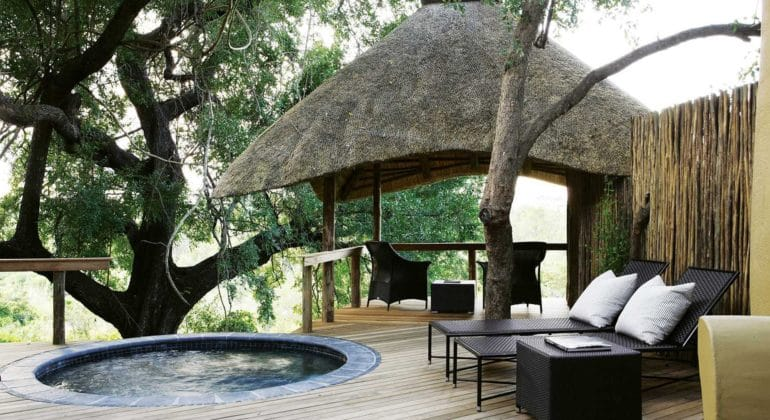 Londolozi Varty Camp Plunge Pool