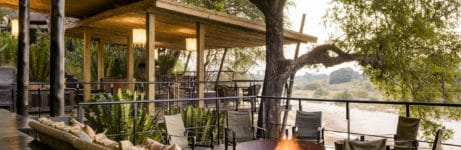 Singita Ebony Lodge Deck