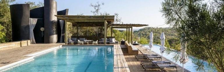 Singita Lebombo Lodge Poolside
