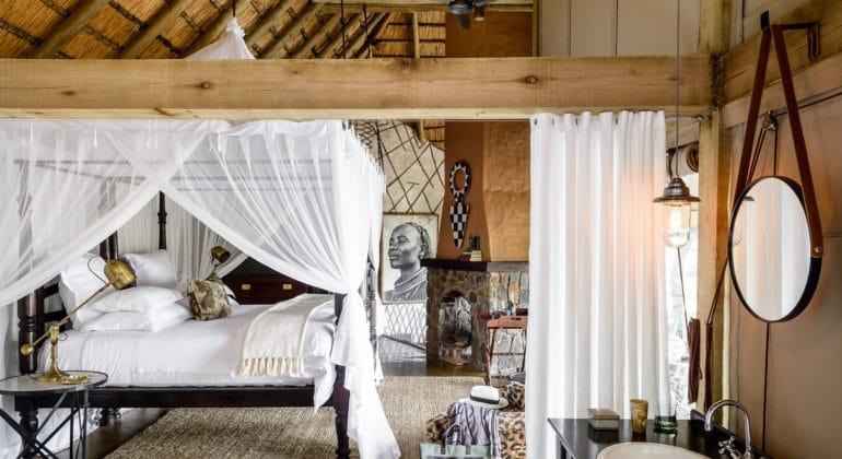 Singita Private Villa Bedroom