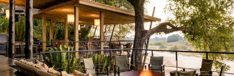 Singita Private Villa Outdoor Sitting