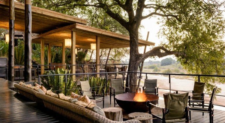 Singita Private Villa Outdoor Sitting