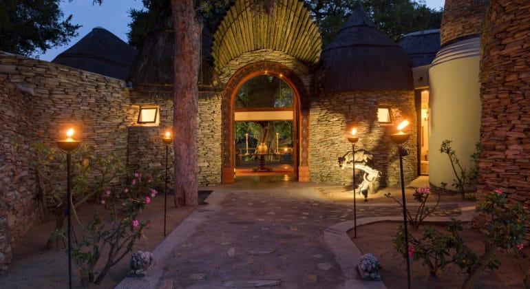 Tintswalo Safari Lodge Entrance