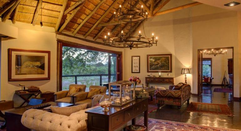 Tintswalo Safari Lodge Lounge