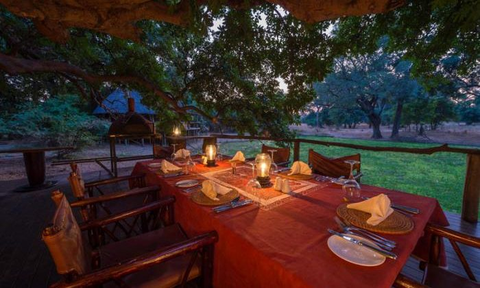 Bilimungwe Outdoor Dining