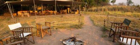 Busanga Bush Camp Campfire