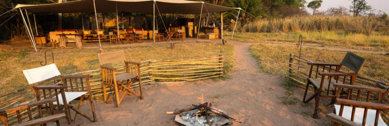 Busanga Bush Camp Campfire