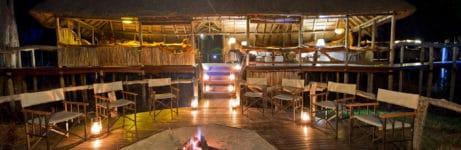 Chitabe Camp Deck