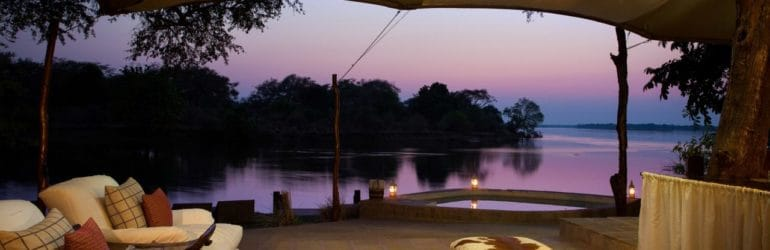Chongwe River Camp Tents Lounge