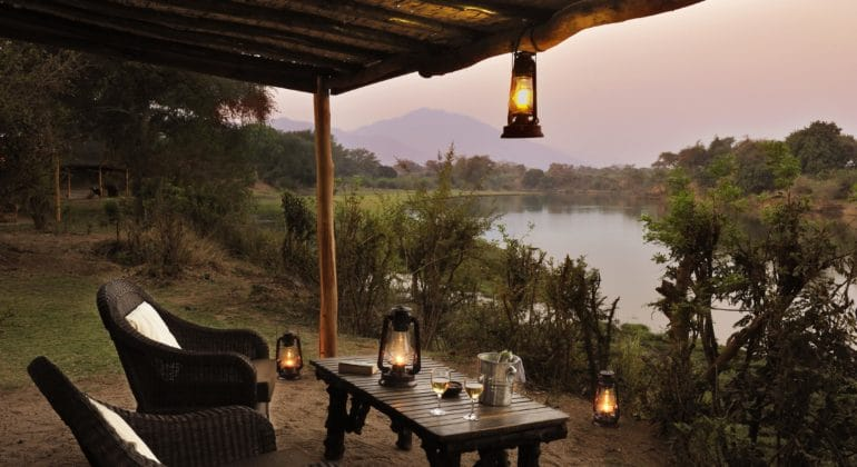 Chongwe River Camp Tents Outdoor View