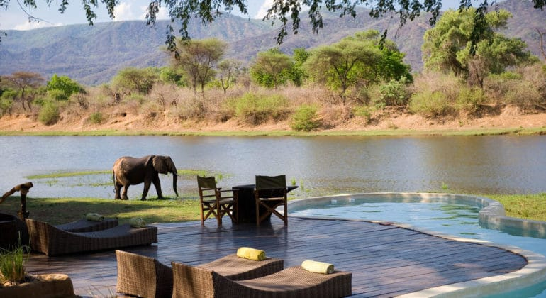 Chongwe River House Outdoor