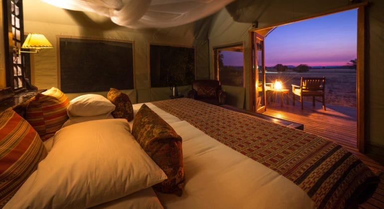 Desert Rhino Camp Bedroom