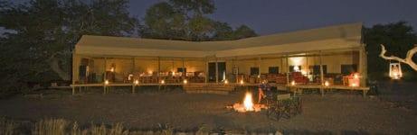 Desert Rhino Camp View