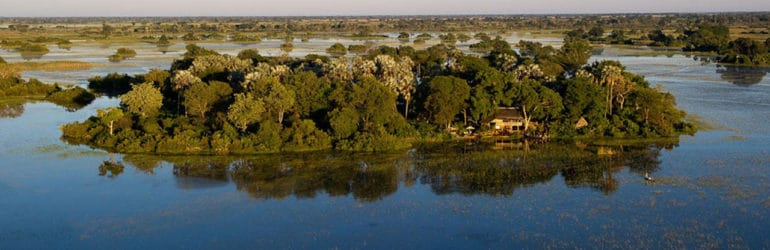 Jacana Camp Aerial View