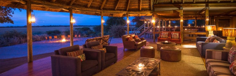 Kalahari Plains Camp Lounge