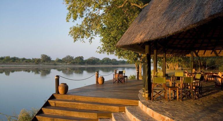 Nkwali Camp Deck