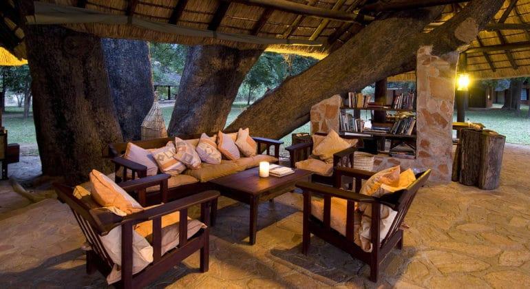 Nkwali Camp Lounge