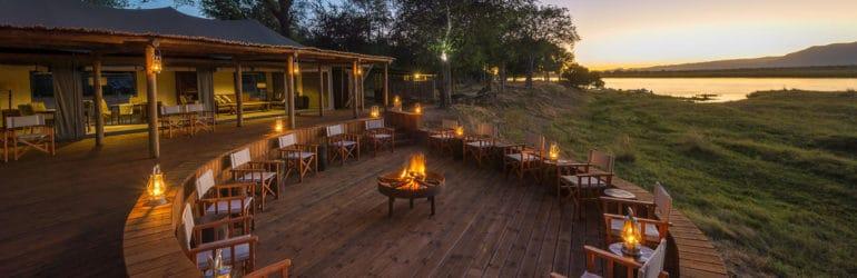 Ruckomechi Camp Campfire