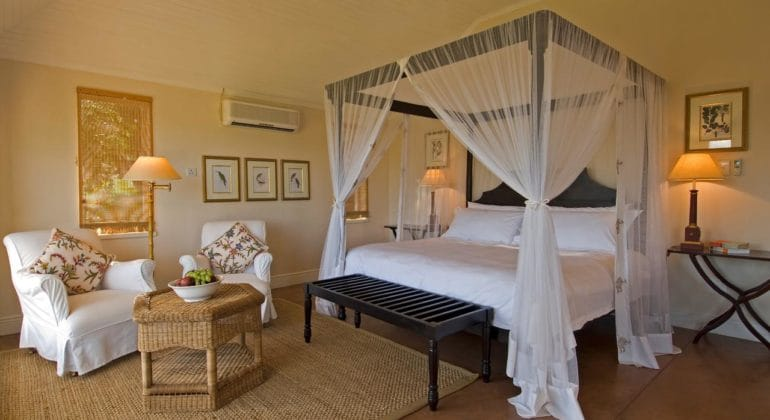Sanctuary Chichele Presidential Lodge Bedroom