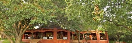 Sanctuary Chobe Chilwero Lodge View