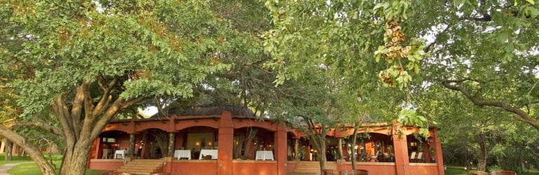 Sanctuary Chobe Chilwero Lodge View