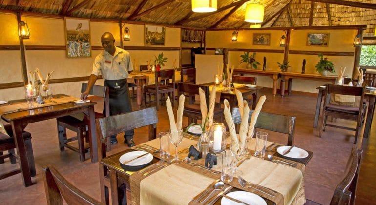 Sanctuary Gorilla Forest Camp Dining