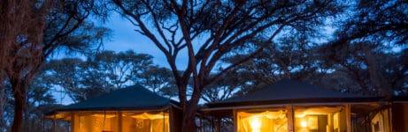 Sanctuary Ngorongoro Crater Camp View