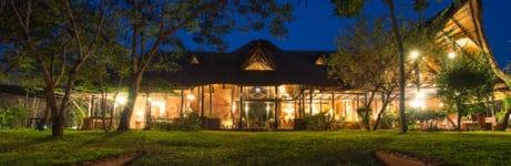 Stanley Safari Lodge At Night