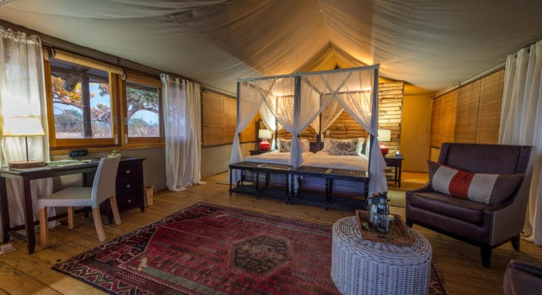 Toka Leya Camp Bedroom