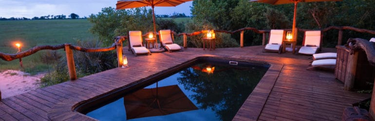 Tubu Tree Camp Pool