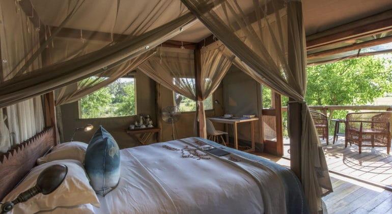 Xigera Camp Bedroom