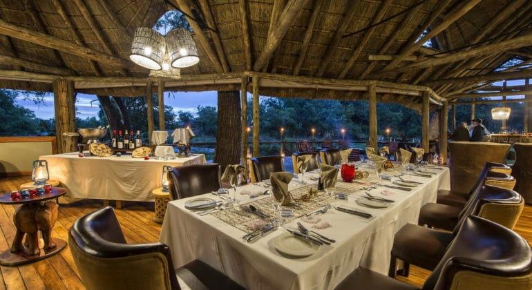 Xigera Camp Dining