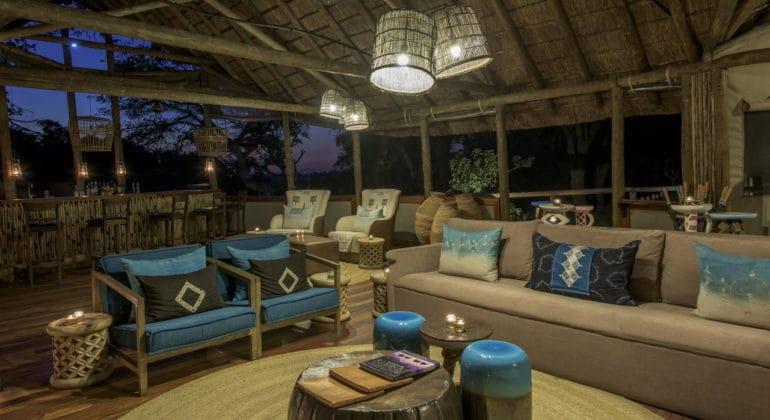 Xigera Camp Lounge