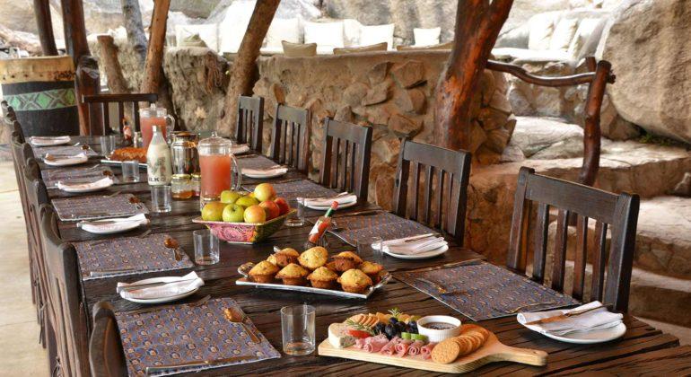 Amalinda Lodge Dining