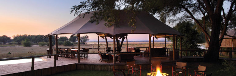 Anabezi Luxury Tented Camp Outdoor